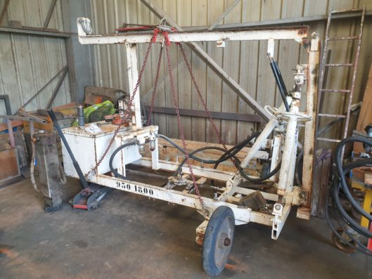 Used air pile driver 1